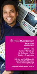 Programmheft Freies Musikzentrum